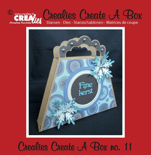 Crealies Create A Box stans/die no. 11, Tasdoosje / Bag box