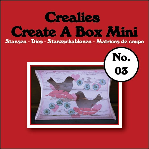 Create A Box Mini stans no. 03 Kussendoosje/Create A Box Mini die no. 03 Pillowbox