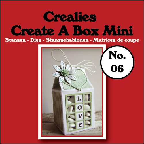 Create A Box Mini stans/die no. 06, Melkpak / Milk carton