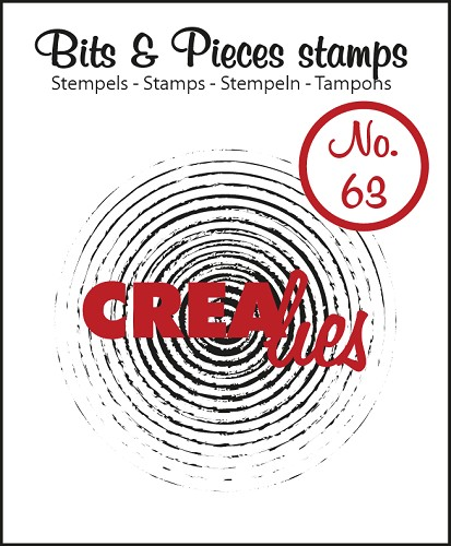 Bits & Pieces stempel/stamp no. 63 Grunge circles in circles