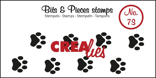 Bits & Pieces stempel/stamp no. 73 Paws cat/dog