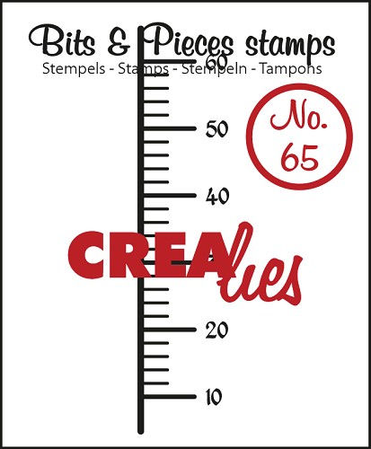 Bits & Pieces stempel/stamp no. 65 Graduation