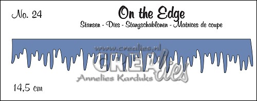 On the Edge stans/die no. 24, IJspegels / Icecles
