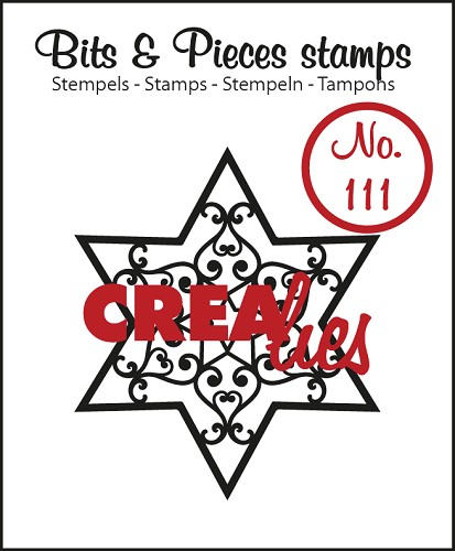 Bits & Pieces stempel/stamp no. 111 Star B