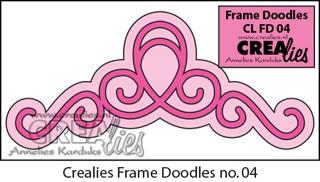 Frame Doodle stans no. 4 / Frame Doodle die no. 4