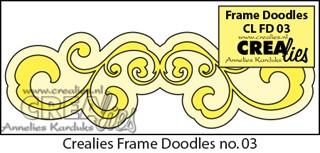 Frame Doodle stans no. 3 / Frame Doodle die no. 3