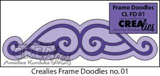 Frame Doodle stans no. 1 / Frame Doodle die no. 1
