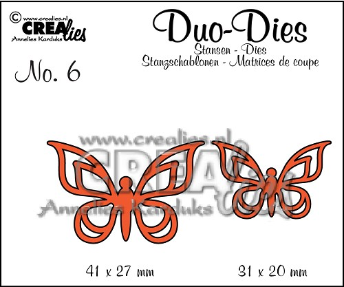 Duo Dies no. 6 Butterflies 2