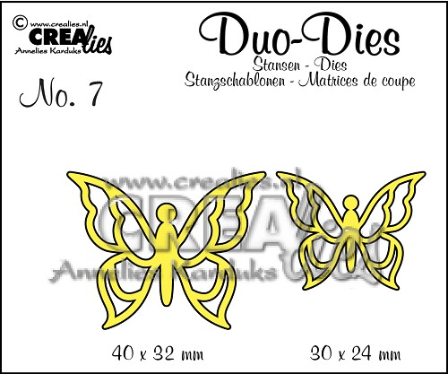 Duo Butterflies set no. 3